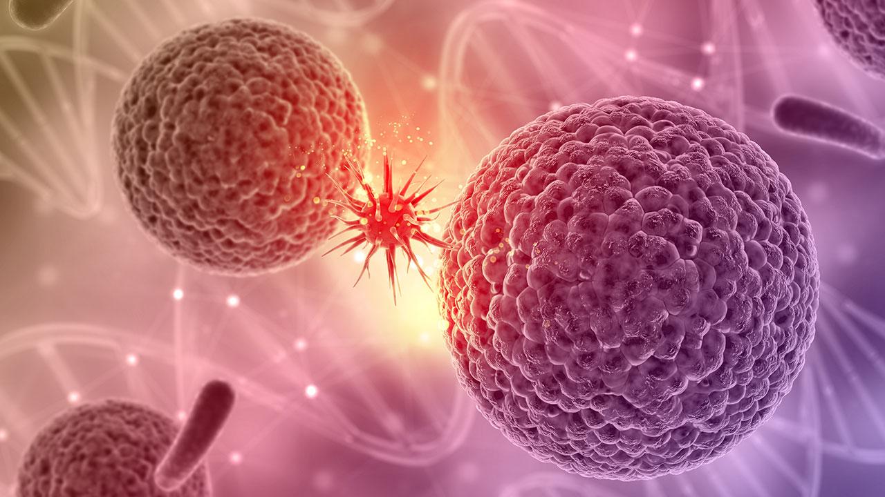 تولید نانوذره برای از بین بردن تومور سرطانی