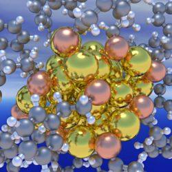 مشاهده نانوذرات ۲۵ نانومتری با میکروسکوپ نوری