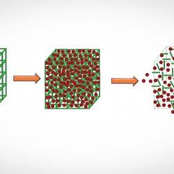 کپسوله کردن داروهای نامحلول در آب درون نانوبلورها